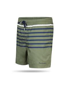 Pierre Cardin Swim Short Stripe Green