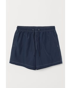 Tom Solid Shorts Blue
