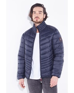 Quilted Down Jacket Jefferson Navy Blue