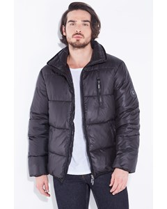 Quilted Down Jacket Baker Black