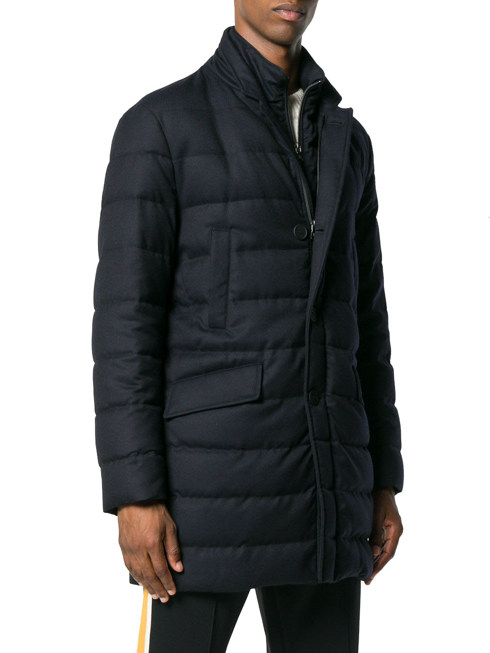 Moncler Men's Wool Coat | Upp till 70% |