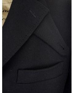 Single Breasted Coat  Black