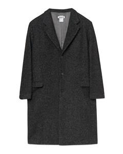 Area Coat Black Mel