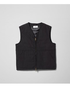 Emanuel Canvas Vest Black
