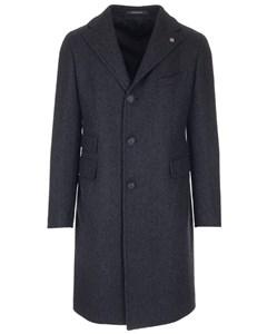 Single-breasted Coat Blue