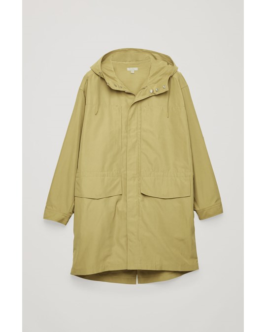 COS Parka Coat Green