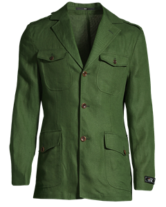 Roger Safari Jacket Green