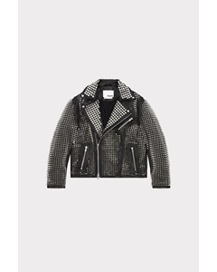 Moto Jacket All Over Studs Black