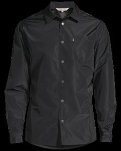 Palmer Nylon Shirt Jacket Deep Marine Blue
