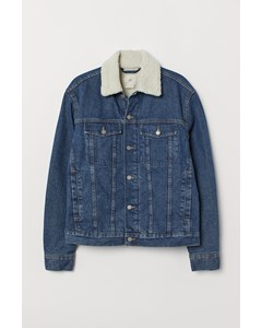 D. Kurt Pile Jacket Blue