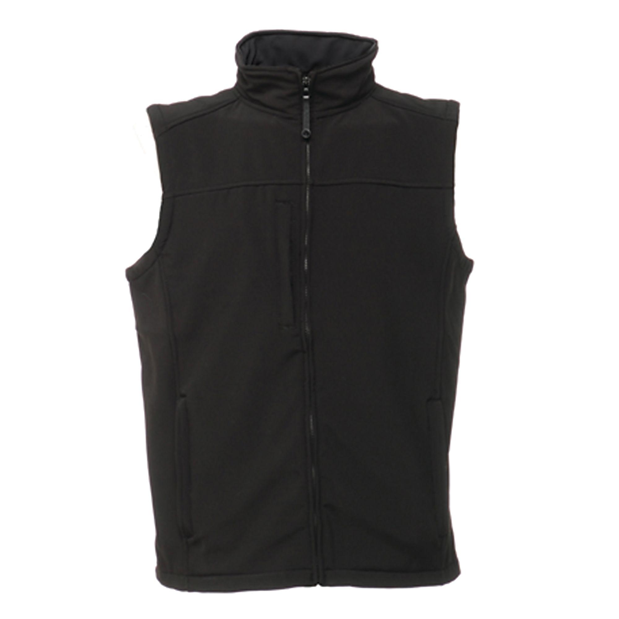 Regatta Mens Flux Softshell Bodywarmer Sleeveless Jacket