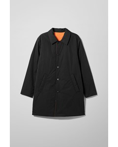 Marty Reversible Coat Black