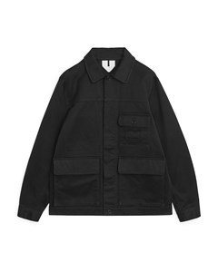 Moleskin Country Jacket Black