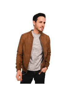 Daily Suede Leather Jacket Daily