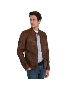 Lewis Leather Biker Jacket Lewis
