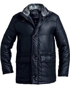 Faux Suede Jacket Black