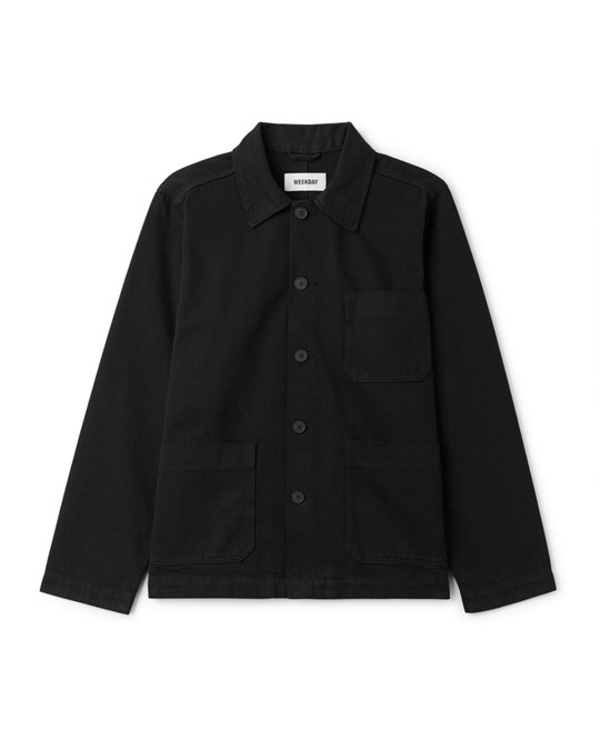 Weekday Generic Jacket Od Black Black