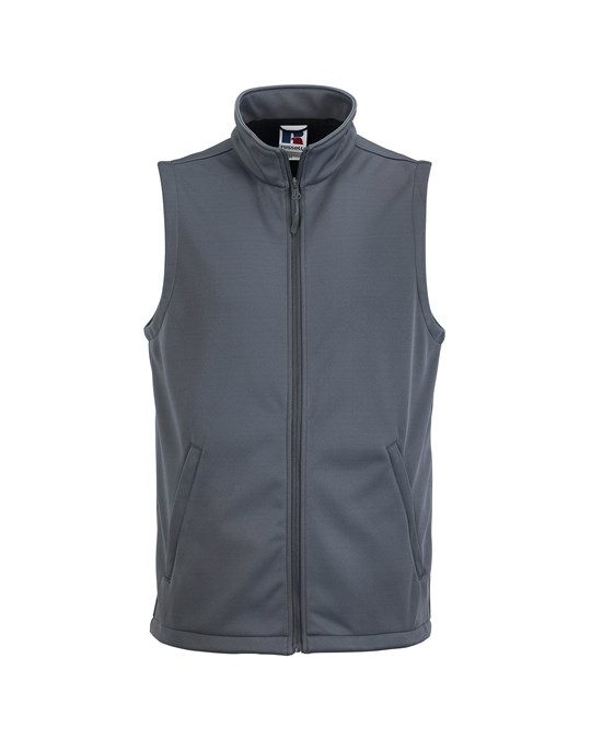Russell Athletic Russell Mens Smart Softshell Gilet Jacket