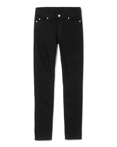 Slim Denim Trousers Black