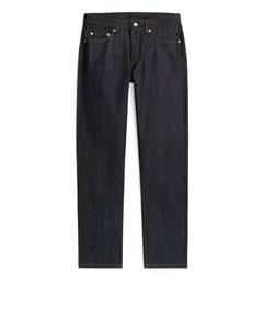 Regular Raw Selvedge Jeans Dark Blue