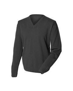 Henbury Mens Lambswool Woolmark® V-neck Jumper / Sweatshirt