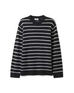 Vinci Stripe Sweater Blue