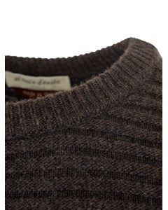 Classic Knitted Sweater  Marrone
