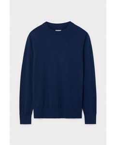 Slim Crewneck Sweater Blue