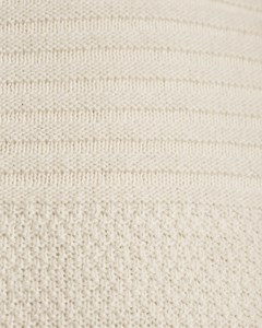 Classic Round Neck Knitted Sweater Naturale