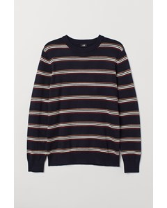 Kent R-neck Sweater Blue
