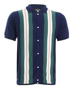 Avedon Knit Shirt  Blue