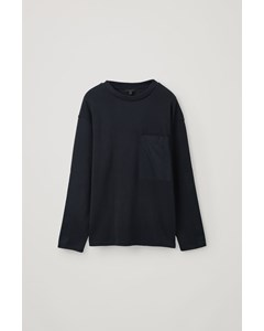 Pocket Sweatshirt Navy