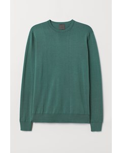 Livorno Round Neck Jumper Green