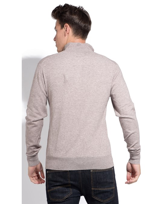 Le Cachemire Francais Cashmere Sweater With Zip Collar
