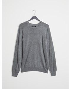 Merino Sweater Grey Melange