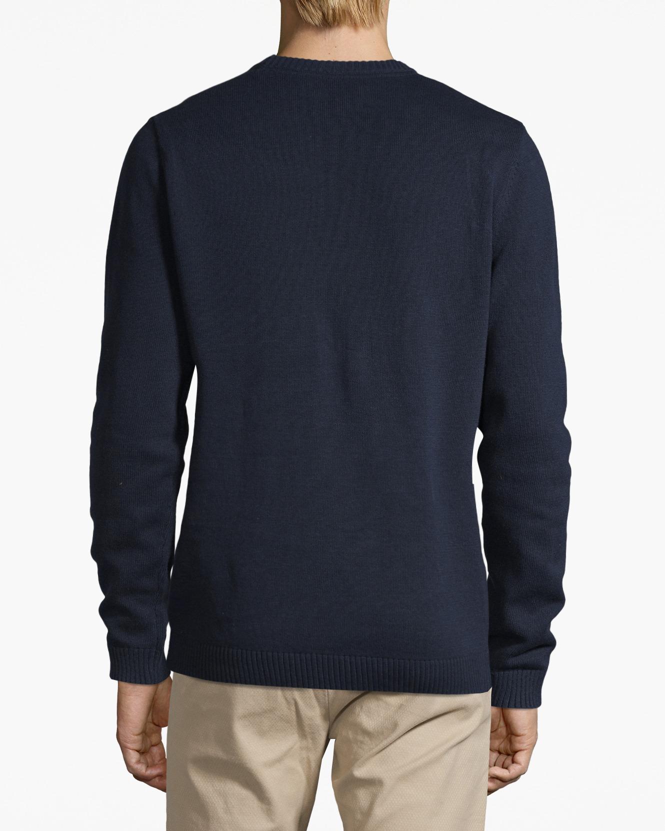 Nelson Knitted Sweatshirt deepest Blue | Shoppa Online | Afound