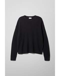 Nikolaj Slit Sweater Black