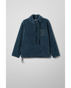 Abe Funnel Neck Sweater Blue