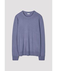 M. Cotton Merino Sweater Bluestone