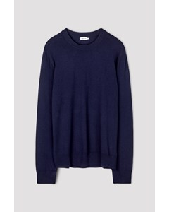 M. Cotton Merino Sweater Deepwater