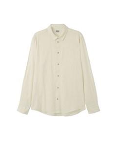 Lead Linen Shirt White