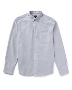Mvp Ellsworth Oxford Stripe Shirt - Indigo