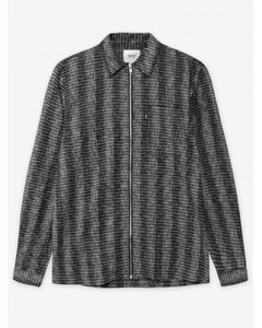 Nicks Light Shirt Jacketpirate Black