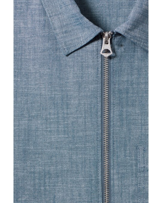 Weekday Temp Chambray Shirt Blue