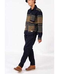 Beppe Overshirt Blanket Stripe