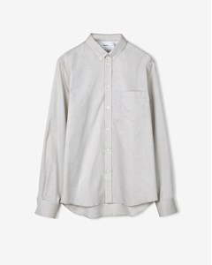Pierre Light Oxford Shirt Sand Paper