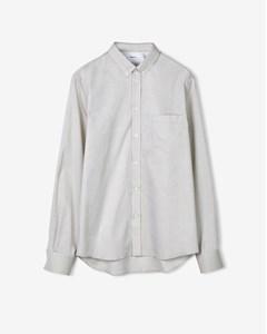 Pierre Light Oxford Shirt Sand Paper