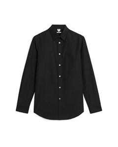 Poplin Shirt Black