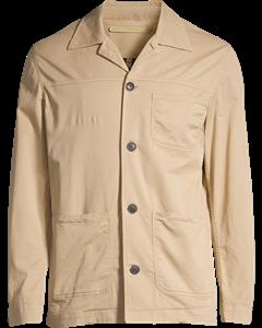 Alan Shirt Jacket Beige
