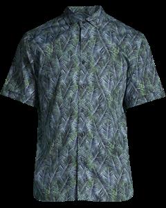Bert Short Sleeve Green Palm